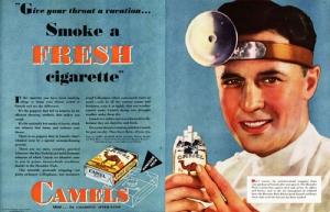 Camels-smoke-a-fresh-cigarette-doctor